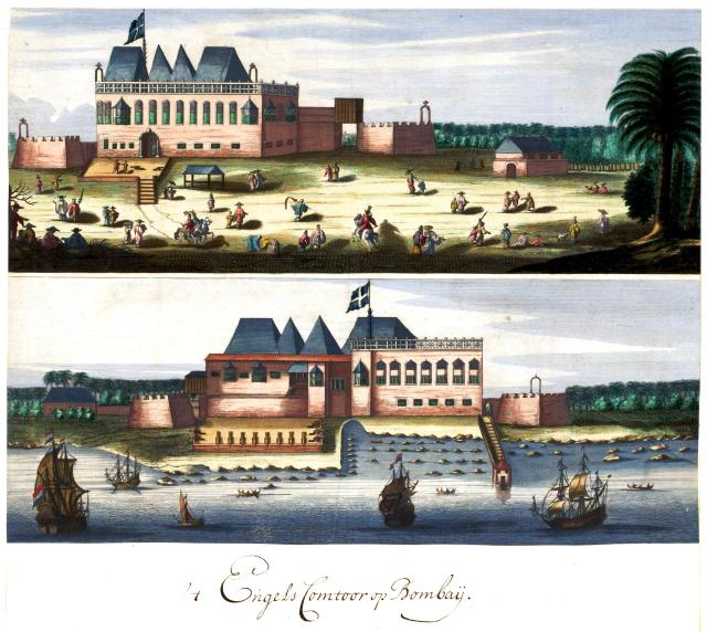 3 - AMH-6748-NA_Two_views_of_the_English_fort_in_Bombay (1)