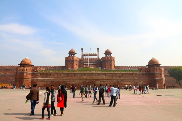 18 - REd Fort Entrance