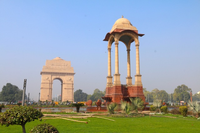 3 - India Gate and Pavilion