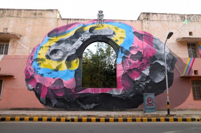 33 - Khan MArket Street Art I