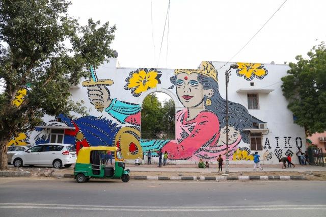 34 - Khan MArket Street Art III