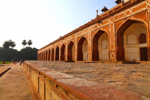 6 - Arcades Humayoun Tomb