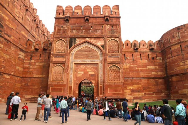 1- Red Fort Entrance