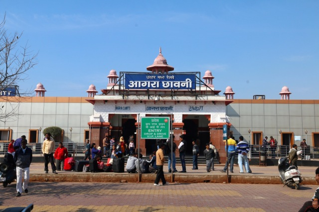 11 - Agra Cantt Station