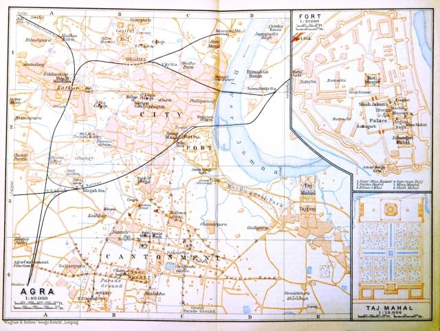 2 - Agra_(Baedeker,_1914)