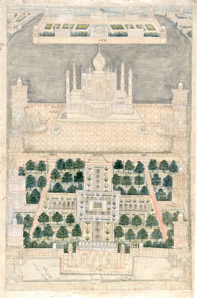 29 - Bird's_Eye_View_of_the_Taj_Mahal_at_Agra
