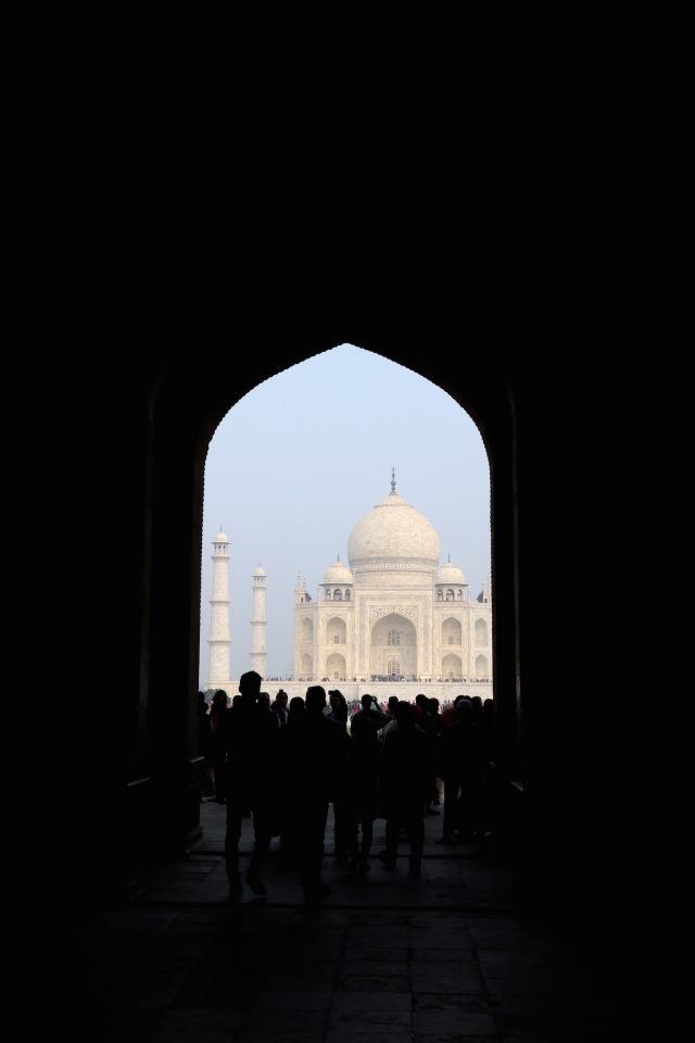 4 - Taj Silhouette