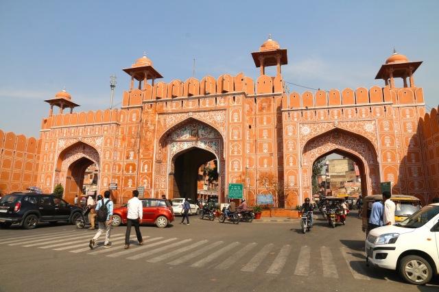 11 - Pink City gates