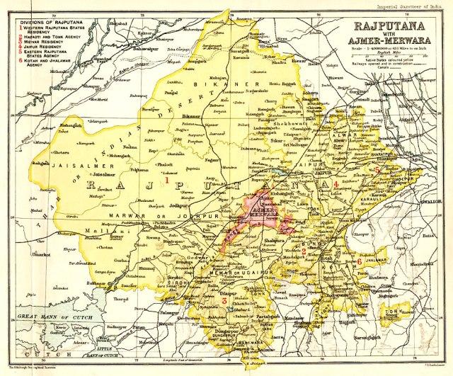 2 - Rajputana_1909