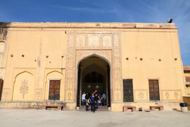 8 - Back of Entrance