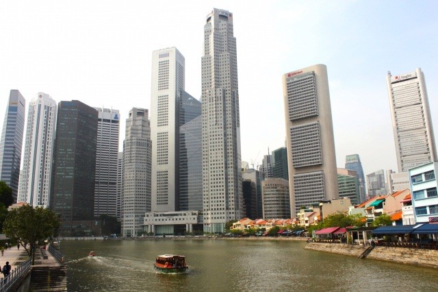 21 - Boat Quay Today