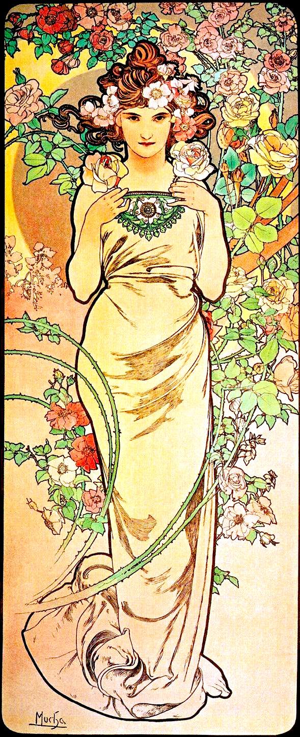 2 - Aphonse_Mucha_-_Rose_1898