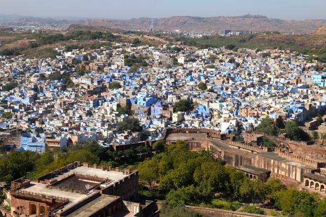 12 - Blue City
