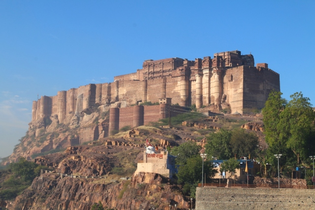 2 - Mehrangarh Close-up
