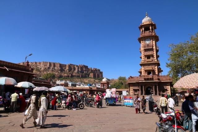 4 - Mehrangarh Fort and Clocktower