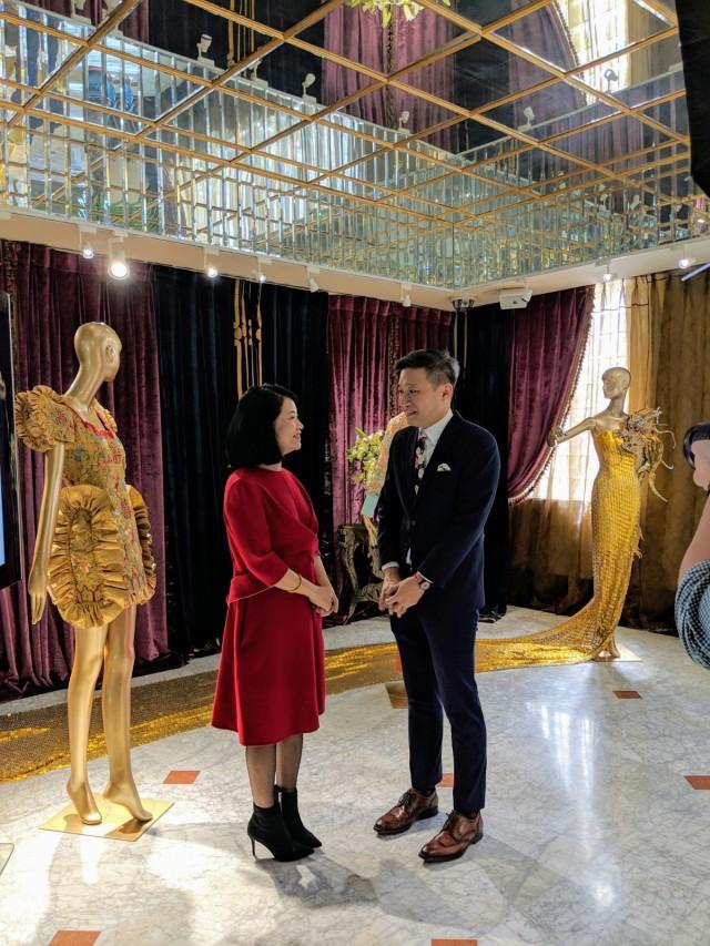 Guo Pei and I