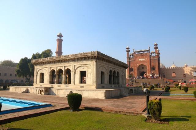 9 - Pavilion in Park
