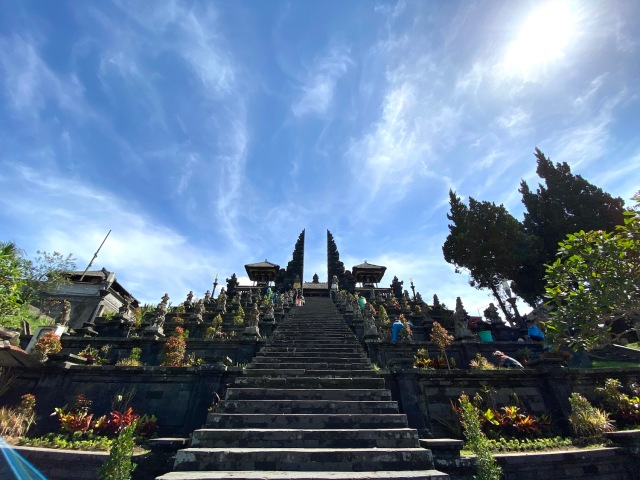 2 - Steps up the Candi Bentar
