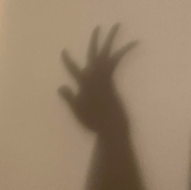 3 - HAND ON WALL